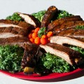 Barbecue Ribs & Greens