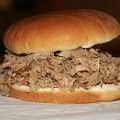 Chopped Pork Sandwich